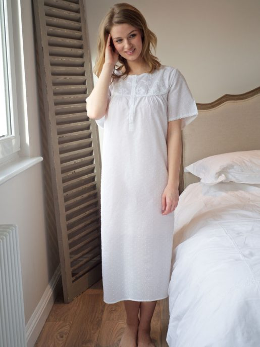 Blondy Cotton Nightdress