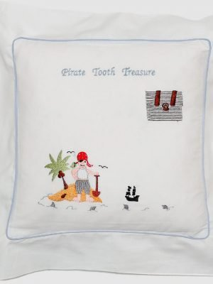 Pirate Tooth Treasure Cushion Cover