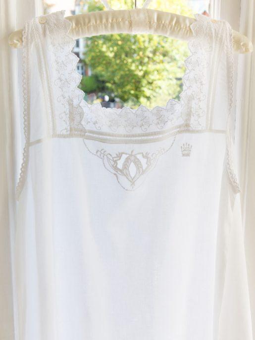 Chemise Cotton Victorian Style Nightdress
