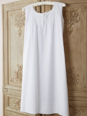 Pintuck Cotton Victorian Style Nightdress