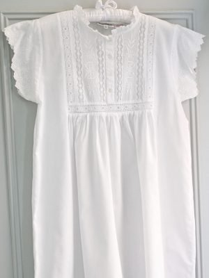 Polo Short Sleeve Victorian Style Nightdress