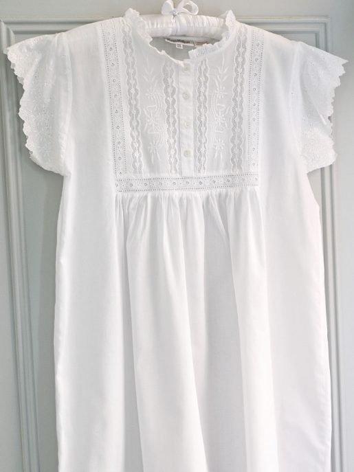Polo Short Sleeve Victorian Style Nightdress