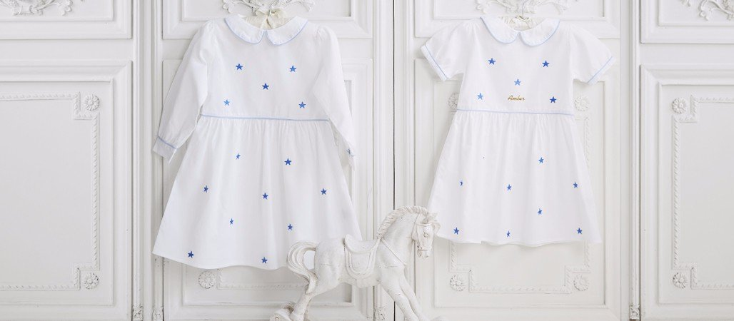 Cotton Star Dress