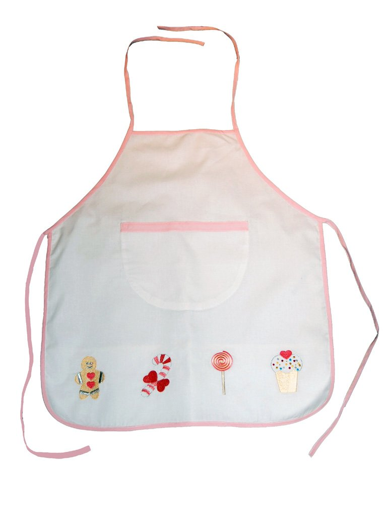 Gingerbread Themed Cotton Apron