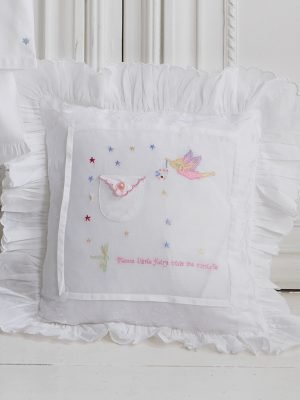 Tooth Fairy Baby Cushion Cover