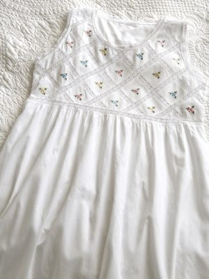 Criss Cross Cotton Nightdress