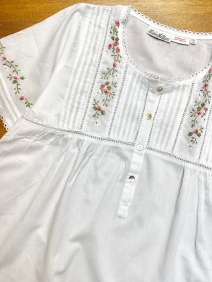 Rosebud Cotton Nightdress
