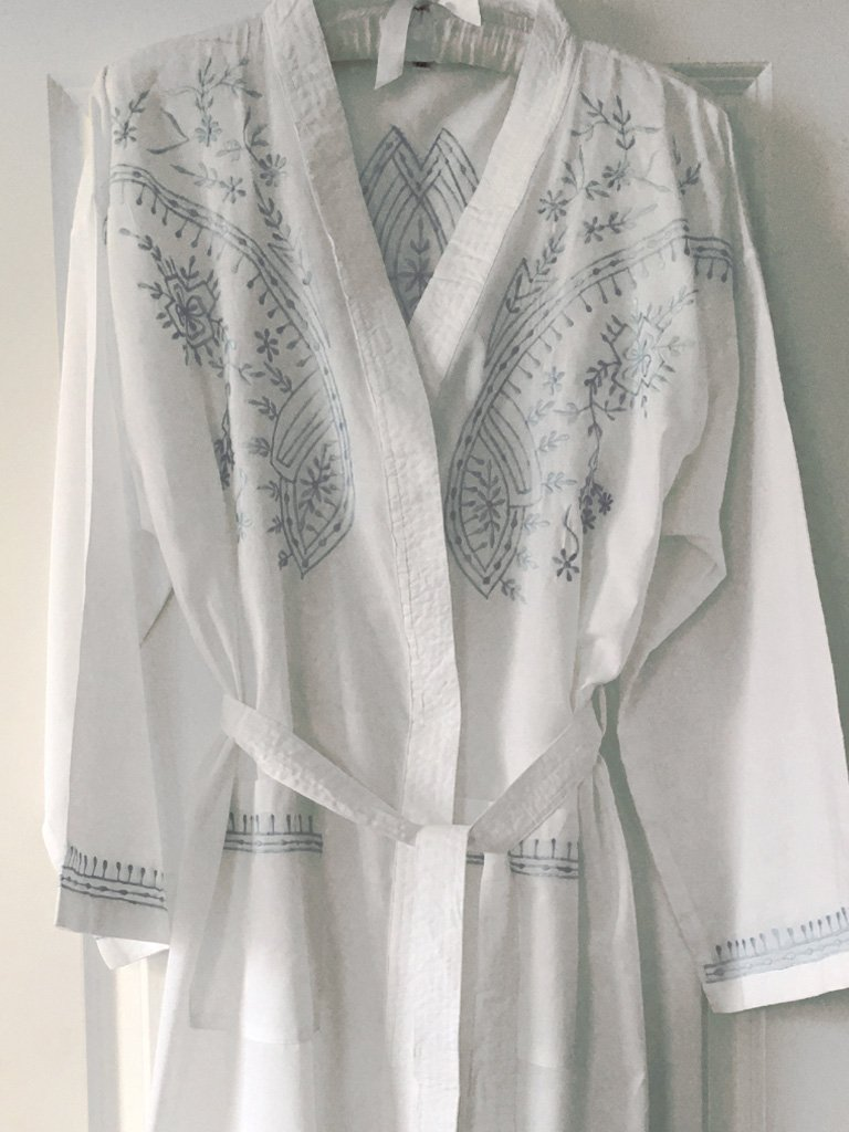 Renaissance Cotton Dressing Gown