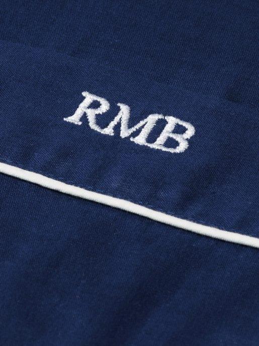 Men's Navy Cotton Pyjamas