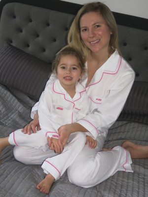 Mother And Daughter Traditional Pyjama Set