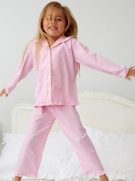 Girl's Candy Stripe Pyjamas