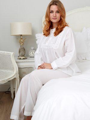 Polo Long Sleeve Cotton Pyjamas