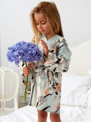 Mini Blossom Dressing Gown